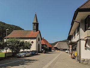 Utzenfeld - Image: Utzenfeld, die Sankt Apollonia Kapelle foto 4 2013 07 26 11.01