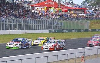 Sydney Motorsport Park - A V8 Supercar race in 2008.