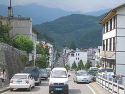 Muyu Town in Shennongjia