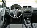VW Golf VI 1.4 Comfortline Deep Black Interieur.JPG