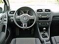 VW Golf VI 1.4 Comfortline Deep Black Interieur.JPG