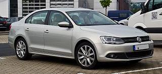 Volkswagen Jetta (A6) German compact car