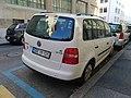 VW Touran Swiss Diplomatic plate (Colombia) (42283556704).jpg