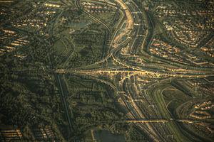 Barendrecht - Vaanplein interchange