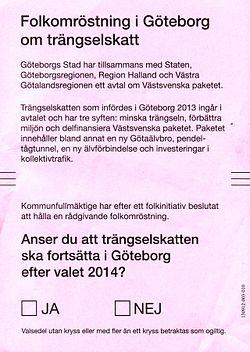 Trangselskatt I Goteborg Wikipedia