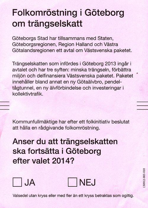 Trangselskatt I Goteborg Wikiwand