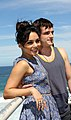 Vanessa Hudgens and Josh Hutcherson (6718759649).jpg