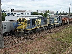 GE U23C - Image: Variante Boa Vista Guaianã 13 10 2012 08 21 35 (8086034706)