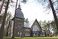 Varpaisjärven kirkko (Pyhän Mikaelin kirkko) - Josef Stenbäck, 1904 - Kauppatie 12 , Varpaisjärvi - Lapinlahti - 2.jpg