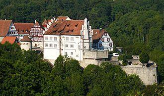 Vellberg - Burg Vellberg (Unteres Schloss, which means Lower Castle)