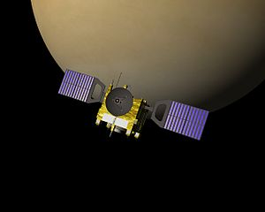 Venus Express in Venus orbit.