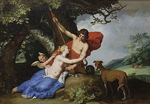 Abraham Bloemaert - Image: Venus og Adonis