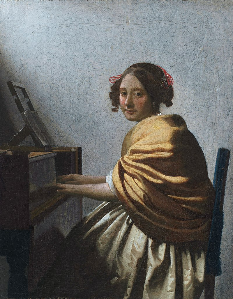 CC 2.84 - SUJETS 800px-Vermeer_-_A_young_Woman_seated_at_the_Virginals