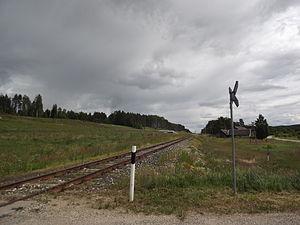 Kolodavitsa - Former Veski railway station.