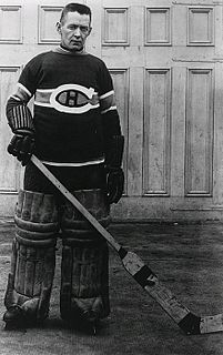 Georges Vézina Ice Hockey Goaltender