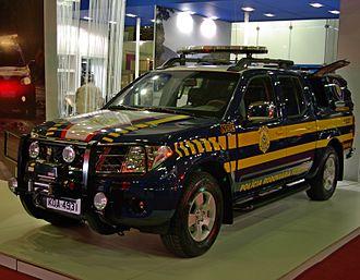 Federal Highway Police - Polícia Rodoviária Federal in the new livery