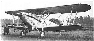 Rolls-Royce Buzzard - The sole Buzzard-powered Vickers Type 207 circa 1933