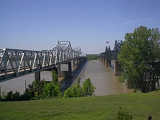 National Register of Historic Places listings in Madison Parish, Louisiana - Image: Vicksburg bridge
