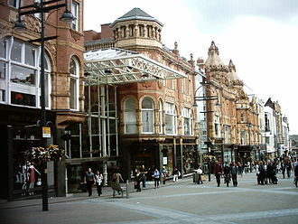 Leeds city centre - Victoria Quarter