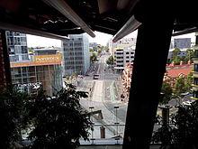 View Of Swanston Street