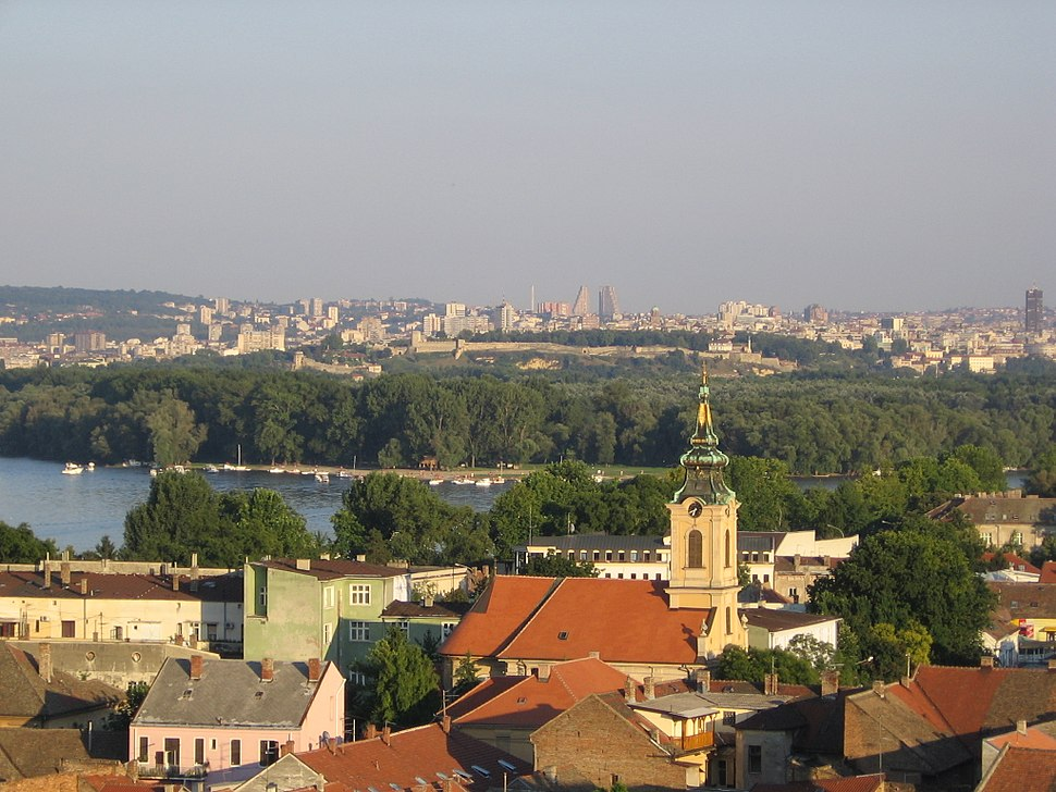 View of Belgrade from Zemun