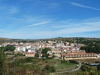 Peguerinos municipality in Castile and León, Spain