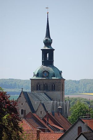 Bockenem - Church of St. Pancratius in Bockenem.