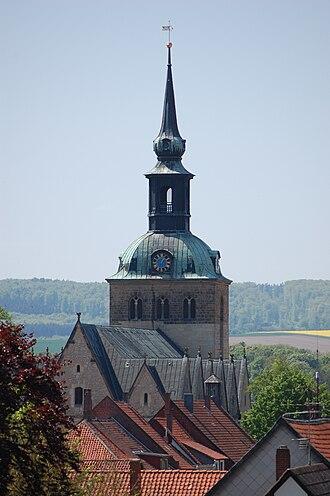 Bockenem - Church of St. Pancratius in Bockenem.