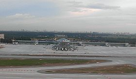 View on the construction site of the Sheremetyevo-D terminal.jpg