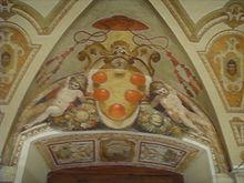 Stemma mediceo, Villa di Careggi, Firenze