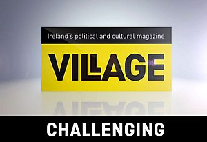 Village (magazine) - Image: Village logochallenging