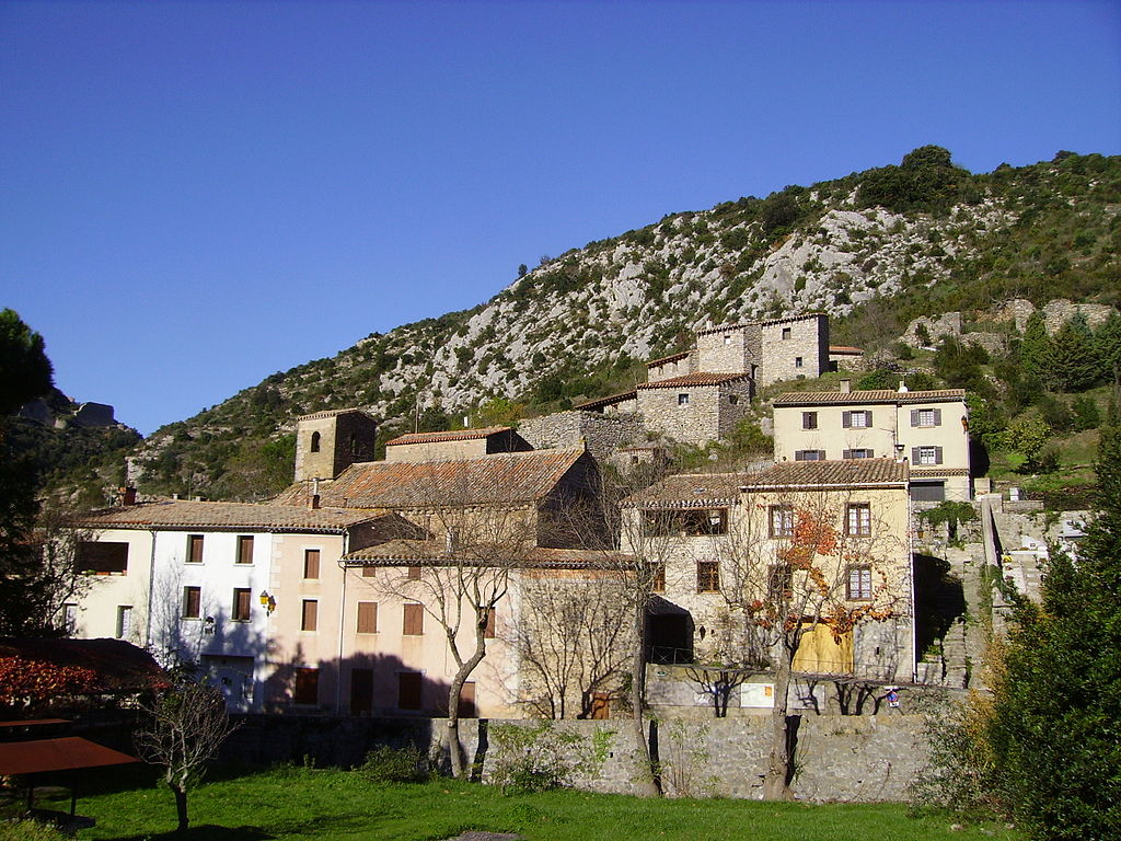 Vue de Termes depuis le sud-est