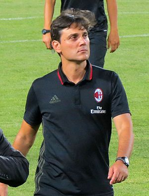 Vincenzo Montella - Montella with Milan in 2016