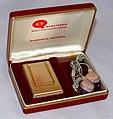 Vintage Qualitone Transistor (Body) Hearing Aid, Model UAR Articulator, Made In USA, Circa 1973-1983 (31956561965).jpg