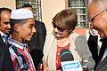 Visit of Nouria Benghabrit-Remaoun to Ghardaia 2.JPG
