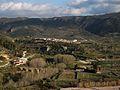 Vista de l'Orxa des del castell de Perputxent.JPG
