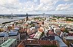 Vistas desde la iglesia de San Pedro, Riga, Letonia, 2012-08-07, DD 12.JPG