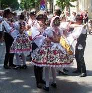 Voivodina Hungarians national costume and dance 2