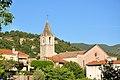 Volonne, église et village.jpg