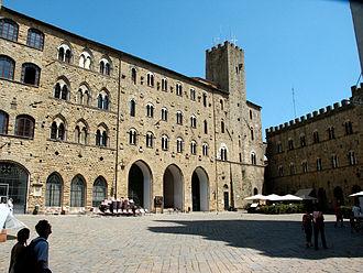 Province of Pisa - Piazza del Priori, Volterra.