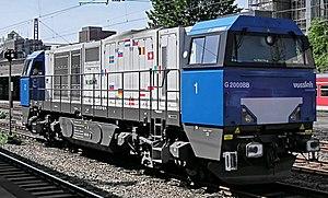 Vossloh - Vossloh G2000 BB Diesel-hydraulic locomotive
