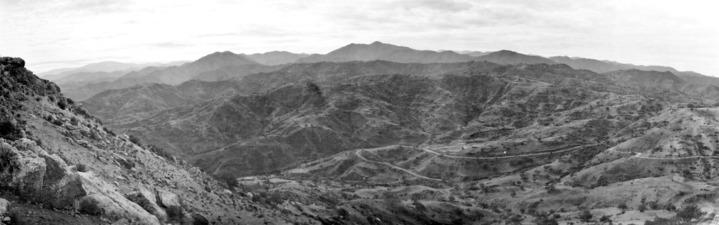 Vouni. Utsikt mot söder. Galini - SMVK - C06080.tif