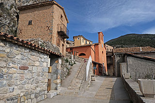 Auvare Commune in Provence-Alpes-Côte dAzur, France