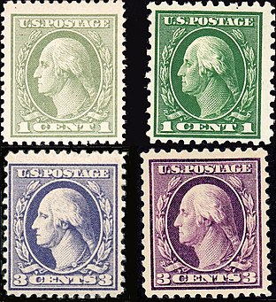 Offset Stamps Left As Compared To Engraved