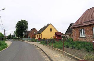 Wielkie Bałówki Village in Warmian-Masurian, Poland