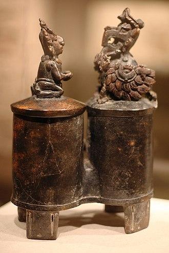 Itzamna - Principal Bird Deity and worshipper, Classic period, Metropolitan Museum of Art, NY