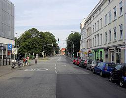 Hüxterdamm in Lübeck