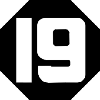 WXIX-TV - Channel 19's original logo in 1968.