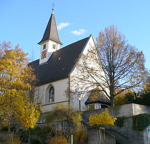 Hohenacker - St. Erhart's church in Waiblingen-Hohenacker, built 1489