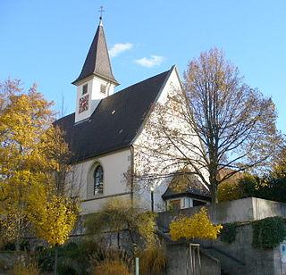 Hohenacker quarter of Waiblingen, Baden-Württemberg, Germany